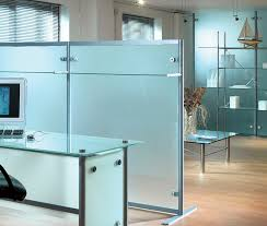 office dividers glass. floor-mounted office divider / glass modular dividers t