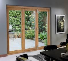 Modern Patio Doors Awesome 3 Panel Sliding Patio Doors Decor Color Ideas Modern In 3