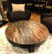 solid round coffee table round wood coffee tables attractive reclaimed wood round coffee table reclaimed wood