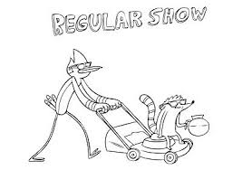 Regular Show Coloring Pages Coloring Pages Pinterest Regular