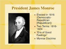 Image result for President James Monroe