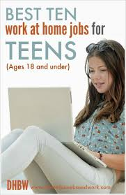 the best online jobs for teens ideas form  best 10 online work at home jobs for teens 18 and under