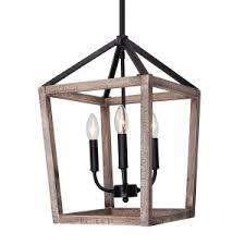 Wooden chandelier lighting Quatrefoil Gannet 4light Chandelier Weathered Oak Wood Whoselamp Wood Chandelier Farmhouse Chandelier Rustic Chandelier Lighting