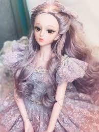 Dài Tóc Giả Búp Bê BJD 60Cm Khỏa Thân Búp Bê 3D Mắt 23 Di Động Khớp Thân  Nhựa Đẹp DIY Phụ Kiện Búp Bê Đồ Chơi dành Cho Bé Gái Tặng Dolls