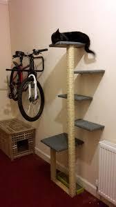 picture of diy cat tree