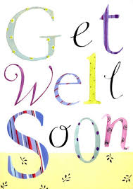 Card With Scripture Verse Get Well Soon Words