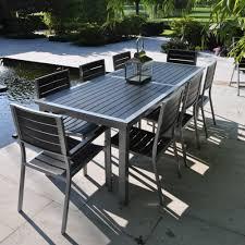 Ensemble table et chaise de jardin aluminium table jardin en fer ...