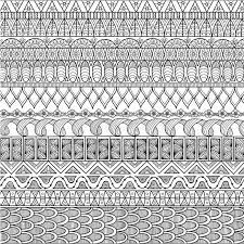zendoodle design of background for coloring book and wallpaper stock vector ilration of