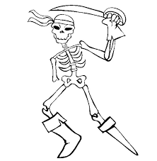 Small Picture Fresh Skeleton Coloring Page 55 On Coloring Pages Online with