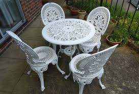 Cast Iron Table And Chairs Garden