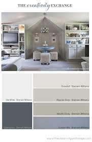 paint colors office. office/craft room paint color palette (paint it monday). colors office i