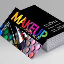 makeup business cards templates free create your own makeup artist business cards all templates
