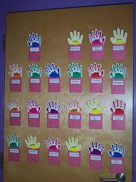 Whos Here Today Chart Each Student Puts Up Their Hand When