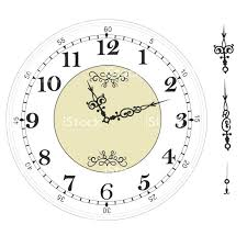 Free Printable Clocks Tatsachen Info