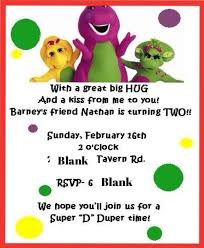 barney party invitation template barney party invitation template barney birthday invitations candy