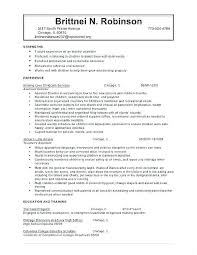 Good Sample Resume For Daycare Teacher Or Lead Her Resume Daycare
