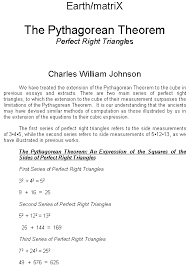 the pythagorean theorem perfect right triangles version pdf the pythagorean theorem perfect right triangles pdf click