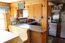 Lake House Kitchen Facilities A Pinewood Lodge Campground