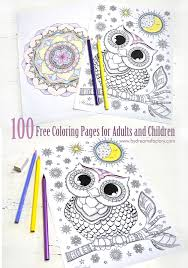 Coloring pictures for adults is both fun. 100 Free Coloring Pages For Adults And Children