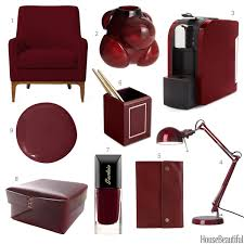Small Picture Wine Red Home Decor Dark Red Accessories