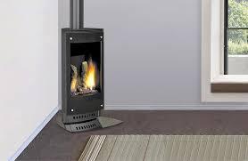 heat glo vrtikl black vertical black flue