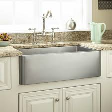 27 inch hazelton stainless steel farmhouse a front kitchen sink for kitchen decor idea