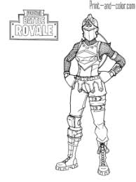 Fortnite Battle Royale Coloring Page Red Knight Female Giochi