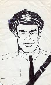Image result for drawing of police officer