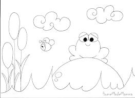 Disegni Da Colorare Con Disegni Facili Per Bambini Piccoli E Rane 21