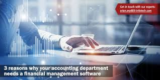 Finnancial Management 3 Reasons Why Your Accounting Department Needs A Financial