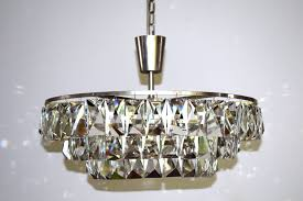 austrian large crystal chandelier from bakalowits sohne 1960s