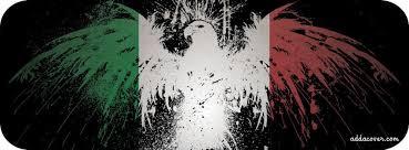 eagle on italian flag facebook cover