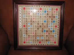 Scrabble Names Wall Art Scrabble Art Family Names Frame Scrabble Frame Scrabble Art