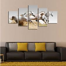paintings for office walls. Perfect Walls Creative Paintings For Office Walls Five Pieces Horses HD High Quality Wall  Painting To P