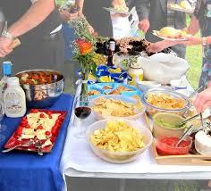 diy wedding food ideas on a budget were so laid back