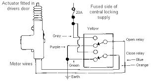 power door lock actuator wiring diagram wiring diagram and a wiring diagram for the central locking actuator penger door