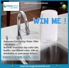 aquasana countertop water filter aq4000