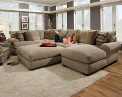 Oversized Furniture Living Room Contemporary Sectional Sofas Beautiful Home Design