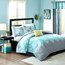 light teal bedding grey comforter twin set turquoise bed and white bedspread duvet cover gray quilt