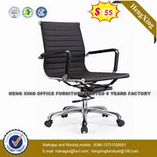 modern fashion middle back leather executive boss manager office chair hx 801b