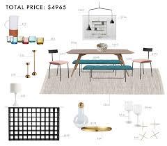 colorful modern dining room. Budget Room Design: Colorful \u0026 Modern Scandinavian Dining N