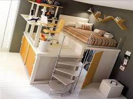 Image of: Cool Bunk Beds With Desks