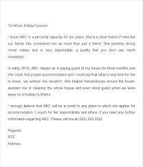 Professional Business Letters Examples Character Reference For A Colleague Business Letter Letters Examples