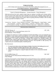 Cover Letter Sample Project Management Resumes Sample Project