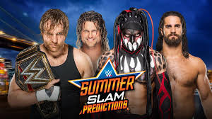 wwe summerslam 2016 full match card preview prediction and ysis