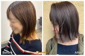 安全安心の髪染め技術人気のおすすめカラーでボブにする妊婦育児