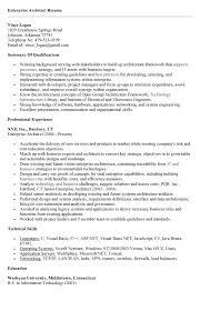 Gallery Of Enterprise Architect Resume Free Resume Templates