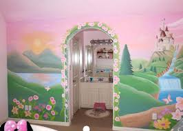 princess murals bedroom girls room with princess castle wall mural disney princess wall mural