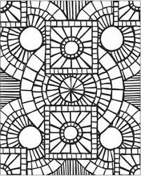 Small Picture Mosaic Coloring Pages for Adults Enjoy Coloring Adult Coloring