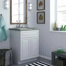 24 white bathroom vanity re belvedere inch modern with ceramic countertop